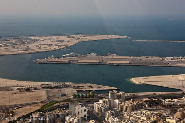 Dubai, vazut din elicopter - Poza 17