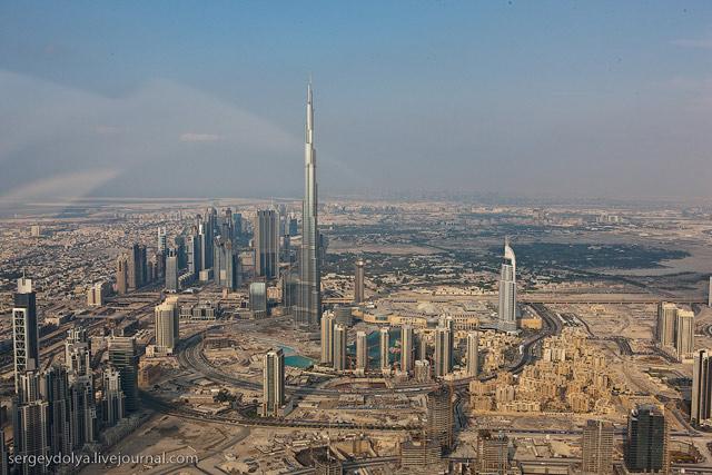 Dubai, vazut din elicopter - Poza 18