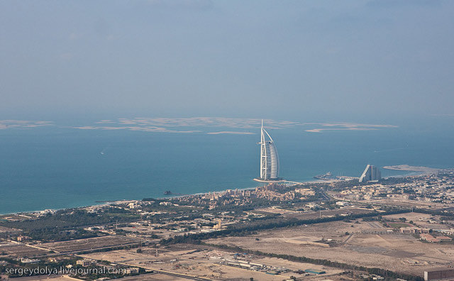Dubai, vazut din elicopter - Poza 19