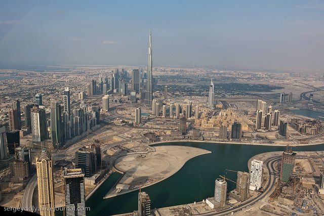 Dubai, vazut din elicopter - Poza 20