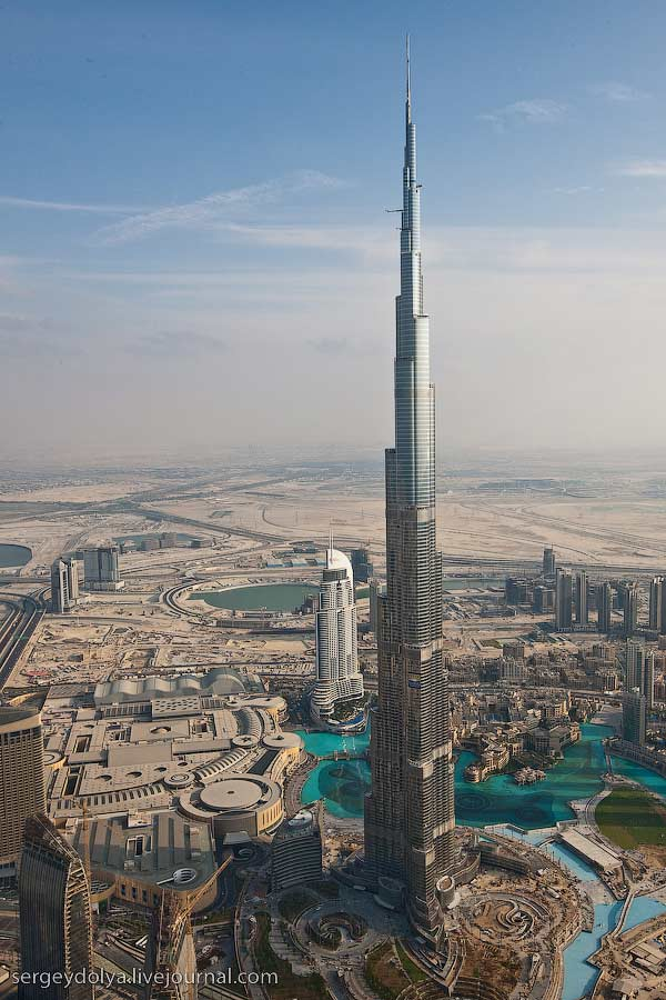 Dubai, vazut din elicopter - Poza 21
