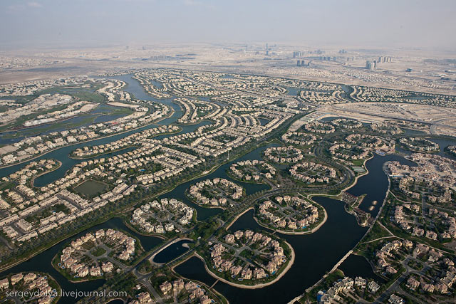 Dubai, vazut din elicopter - Poza 4