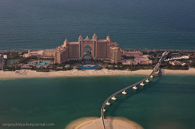 Dubai, vazut din elicopter - Poza 7