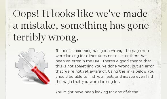 Oooopsss! Pagini Error 404... - Poza 3