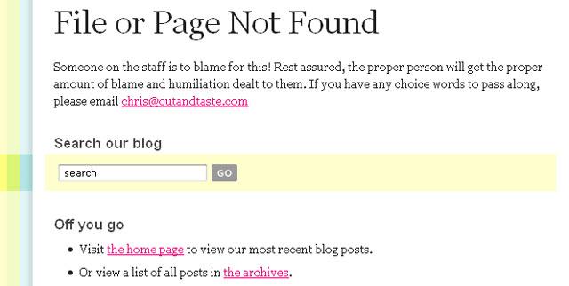Oooopsss! Pagini Error 404... - Poza 6