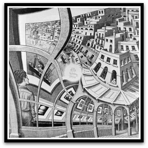 30 desene ciudate - M.C. Escher - Poza 11