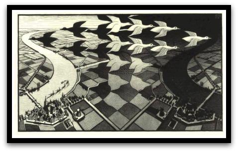30 desene ciudate - M.C. Escher - Poza 12