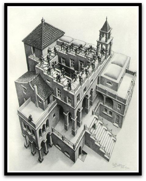 30 desene ciudate - M.C. Escher - Poza 13