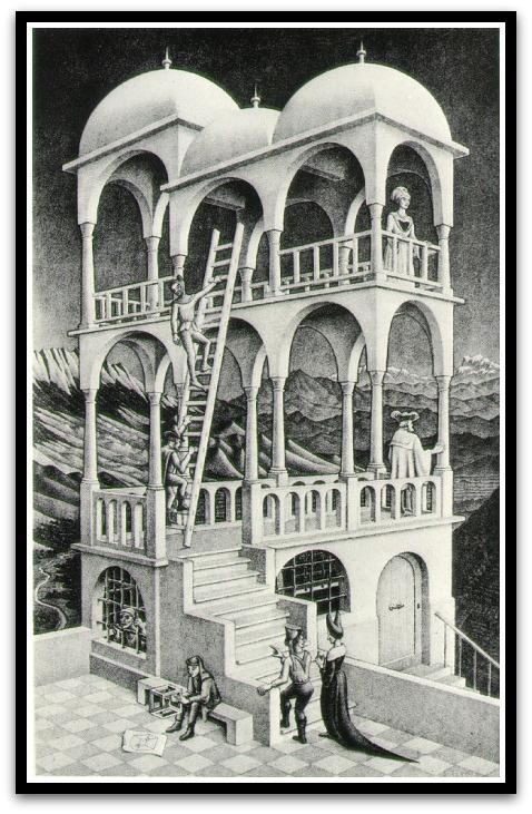 30 desene ciudate - M.C. Escher - Poza 14