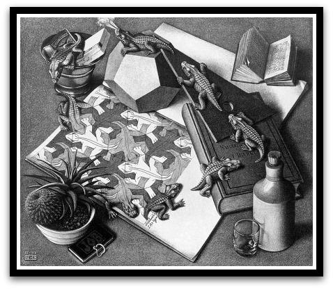 30 desene ciudate - M.C. Escher - Poza 15