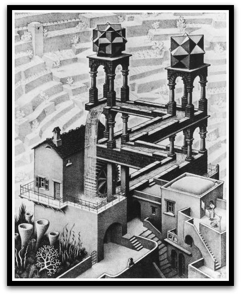 30 desene ciudate - M.C. Escher - Poza 17