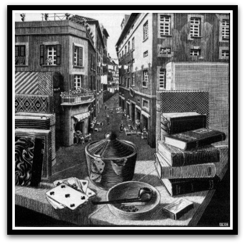 30 desene ciudate - M.C. Escher - Poza 19