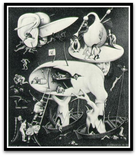 30 desene ciudate - M.C. Escher - Poza 3