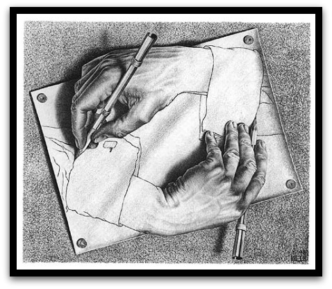 30 desene ciudate - M.C. Escher - Poza 21