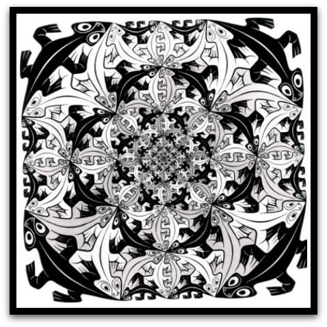 30 desene ciudate - M.C. Escher - Poza 23