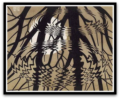 30 desene ciudate - M.C. Escher - Poza 24