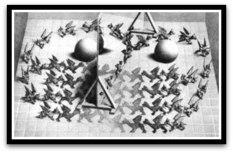 30 desene ciudate - M.C. Escher - Poza 25