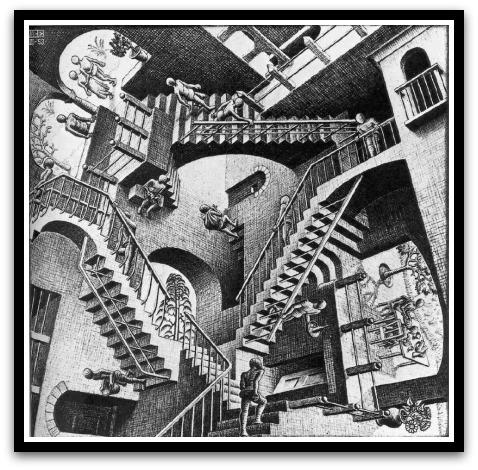 30 desene ciudate - M.C. Escher - Poza 29