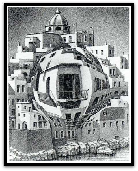 30 desene ciudate - M.C. Escher - Poza 4