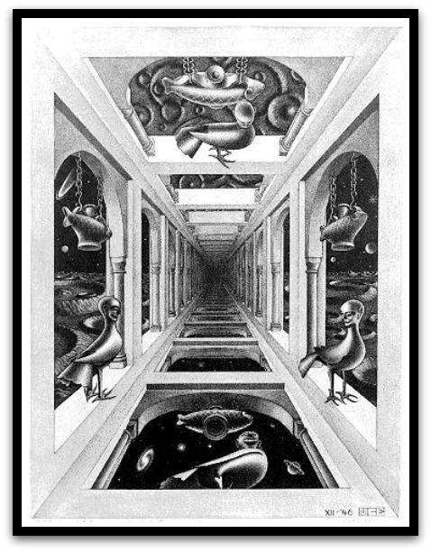 30 desene ciudate - M.C. Escher - Poza 7