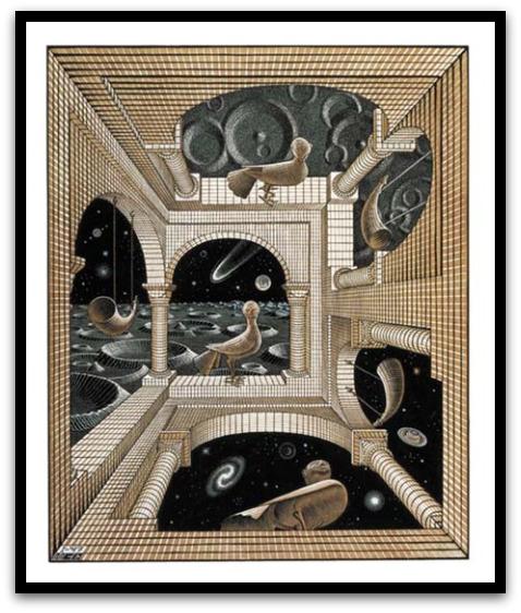 30 desene ciudate - M.C. Escher - Poza 8
