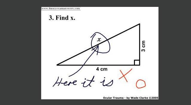 Funny: rezolvari ingenioase la examene - Poza 4