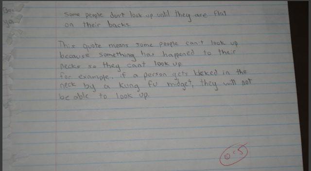 Funny: rezolvari ingenioase la examene - Poza 6