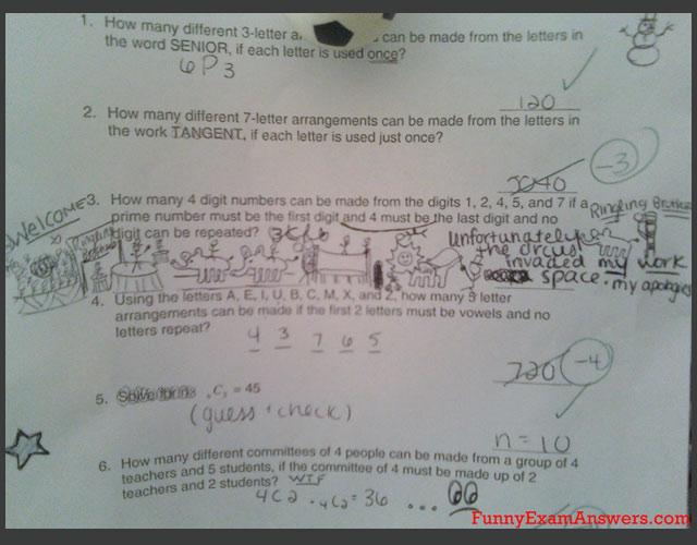 Funny: rezolvari ingenioase la examene - Poza 8
