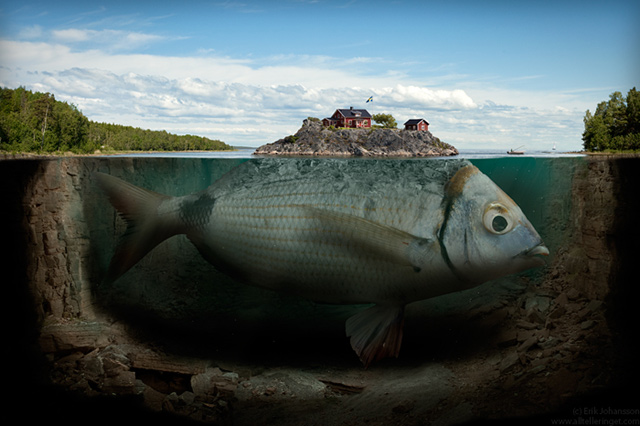 Fishy Island by Erik Johansson - Poza 1