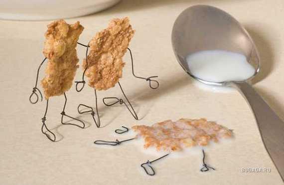 Funny: Arta din mancare! - Poza 64