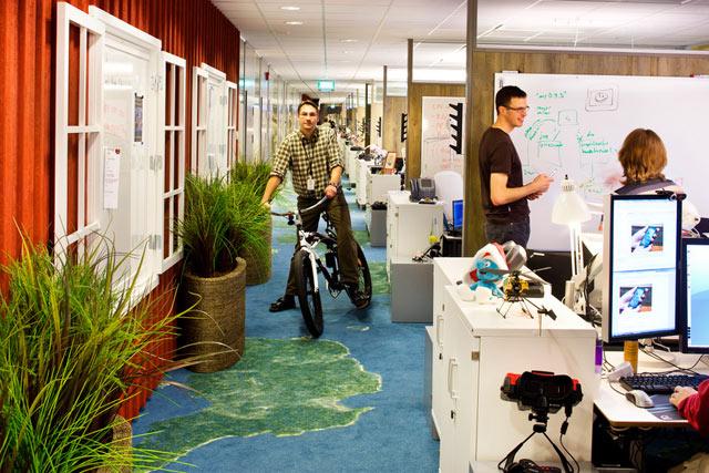 Cum arata sediile Google din California si Zurich? - Poza 3