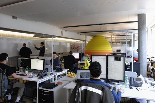Cum arata sediile Google din California si Zurich? - Poza 6