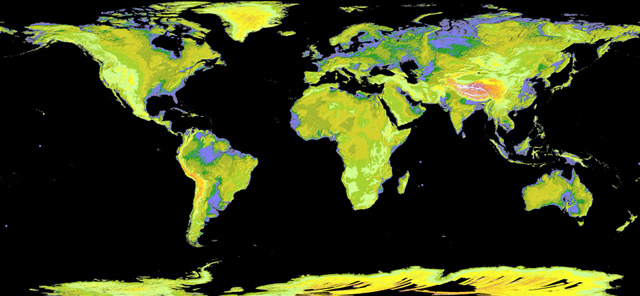 Cea mai detaliata harta a Terrei - Poza 1