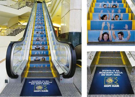 15 reclame creative, puse pe scari - Poza 7