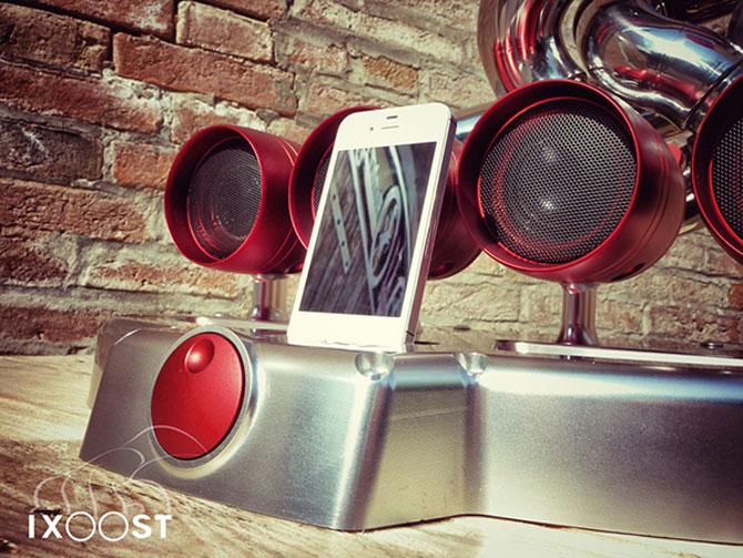 Boxe de esapament pentru iPhone?! iOS iXoost Dock - Poza 2