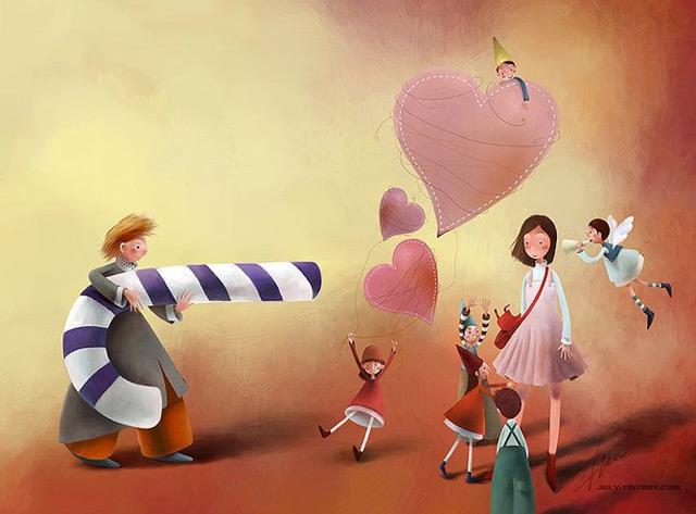 Culori si pozitivism in 20 de ilustratii - Poza 1