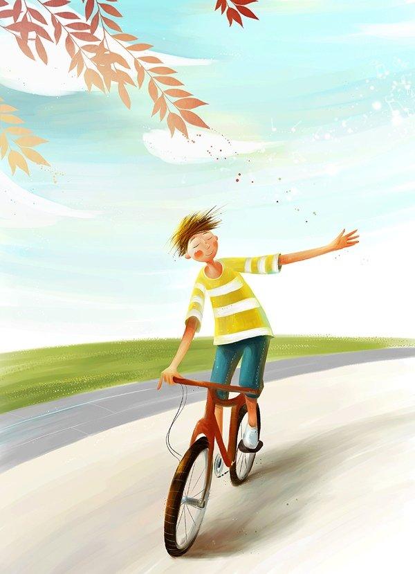 Culori si pozitivism in 20 de ilustratii - Poza 19