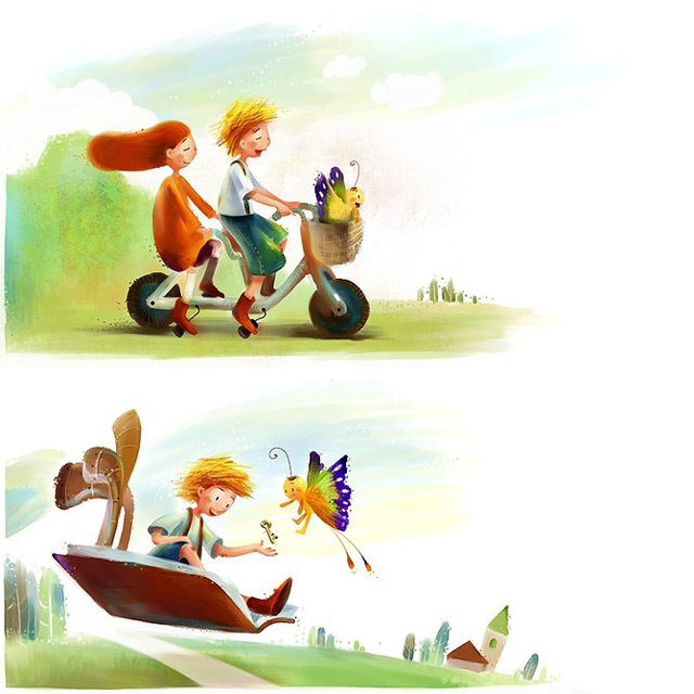 Culori si pozitivism in 20 de ilustratii - Poza 3