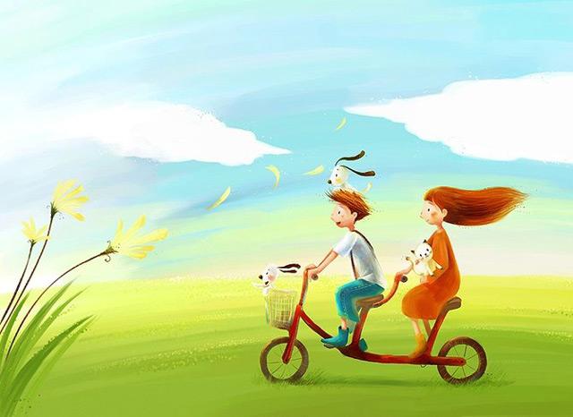 Culori si pozitivism in 20 de ilustratii - Poza 15