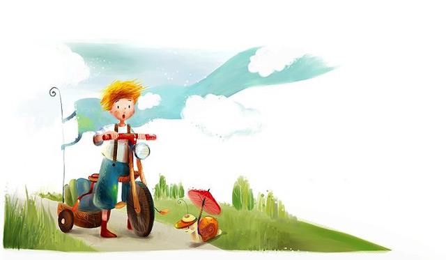 Culori si pozitivism in 20 de ilustratii - Poza 4