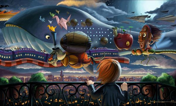 Bram Lee - Ilustratii uimitoare - Poza 3