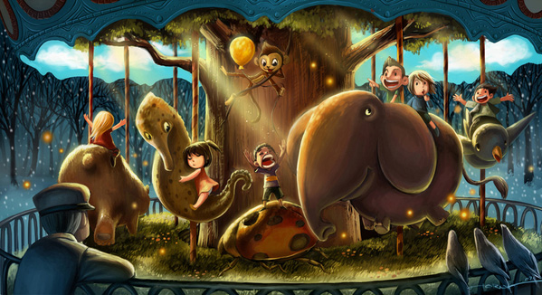 Bram Lee - Ilustratii uimitoare - Poza 4