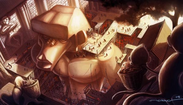 Bram Lee - Ilustratii uimitoare