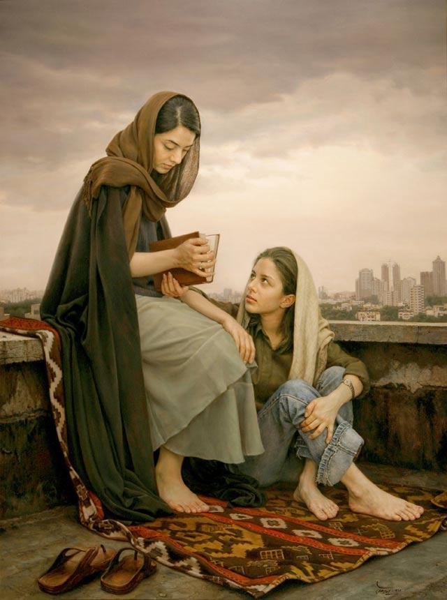 Picturi realiste: Iman Maleki - Poza 1