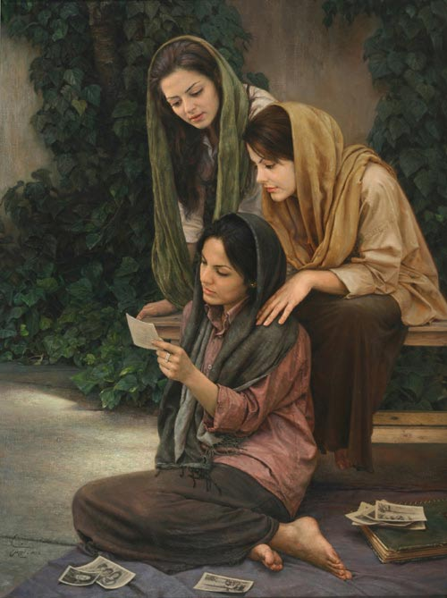 Picturi realiste: Iman Maleki - Poza 14