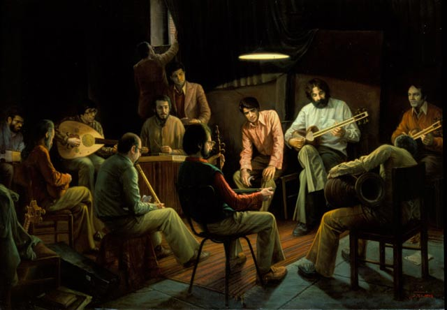 Picturi realiste: Iman Maleki - Poza 2
