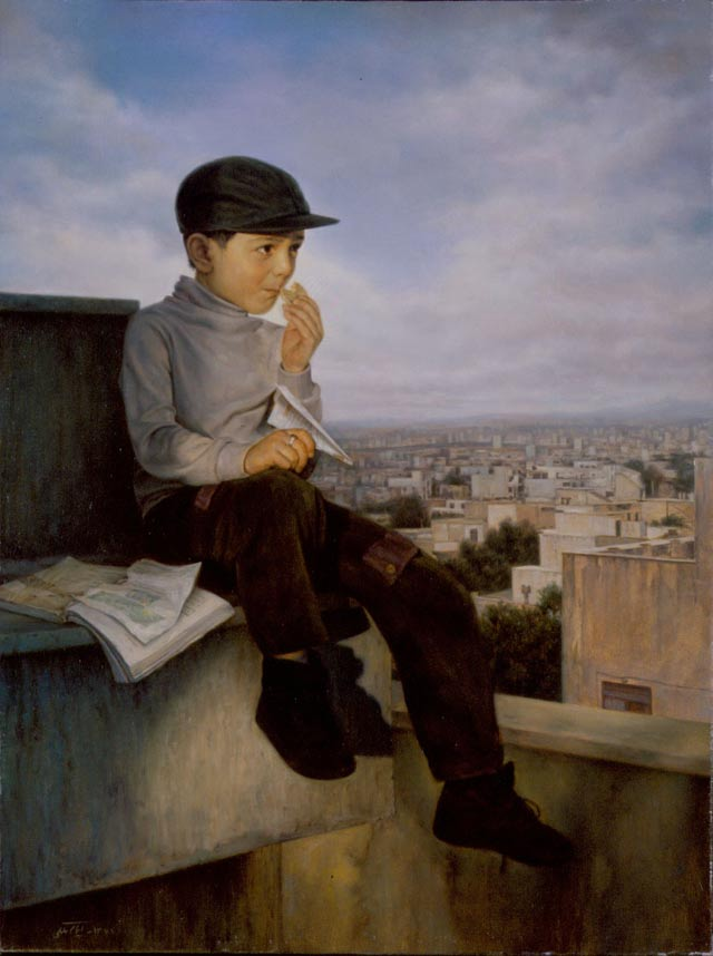 Picturi realiste: Iman Maleki - Poza 7