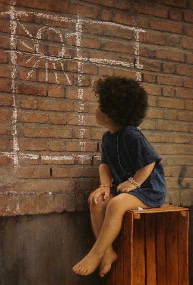Picturi realiste: Iman Maleki - Poza 8