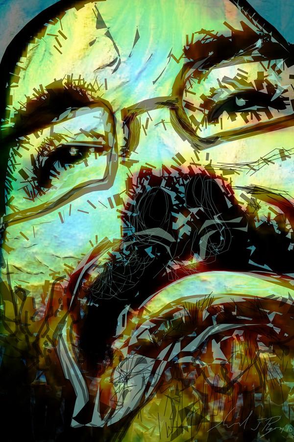 20 de picturi realizate numai cu degetul - Poza 16