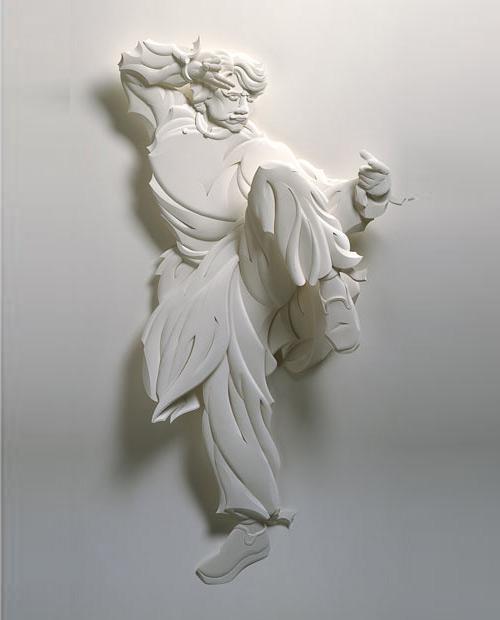 25 de sculpturi din hartie - Poza 13